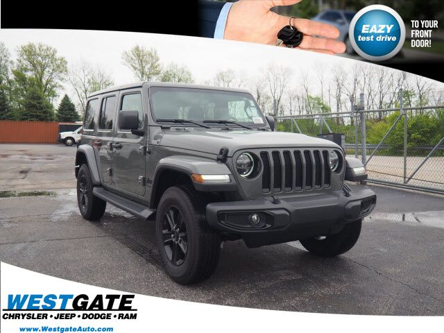 2020 Jeep Wrangler UNLIMITED SAHARA ALTITUDE 4X4 Plainfield IN