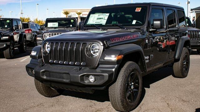 2020 Jeep Wrangler UNLIMITED SPORT 4X4 Las Vegas NV