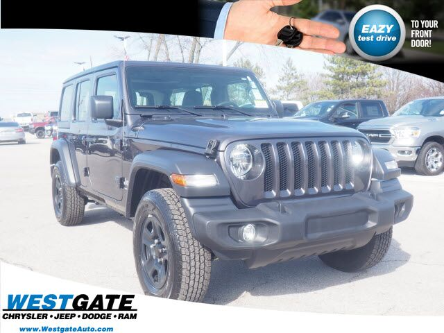 2020 Jeep Wrangler UNLIMITED SPORT 4X4 Plainfield IN