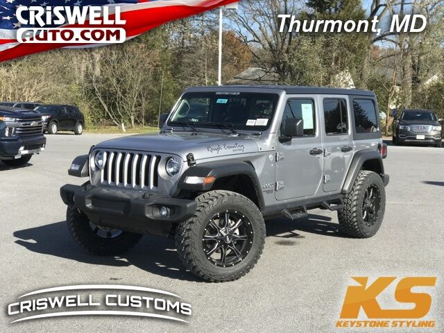 2020 Jeep Wrangler UNLIMITED SPORT 4X4 Thurmont MD