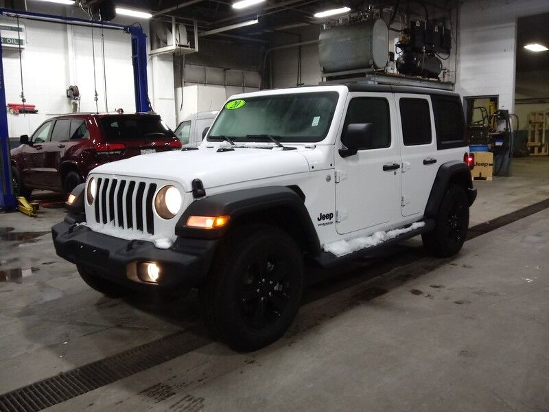 2020 Jeep Wrangler UNLIMITED SPORT ALTITUDE 4X4 Dubuque IA