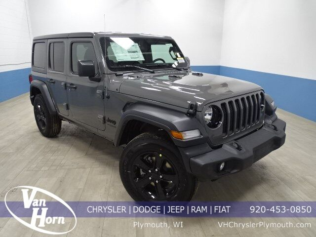 2020 Jeep Wrangler UNLIMITED SPORT ALTITUDE 4X4 Plymouth WI