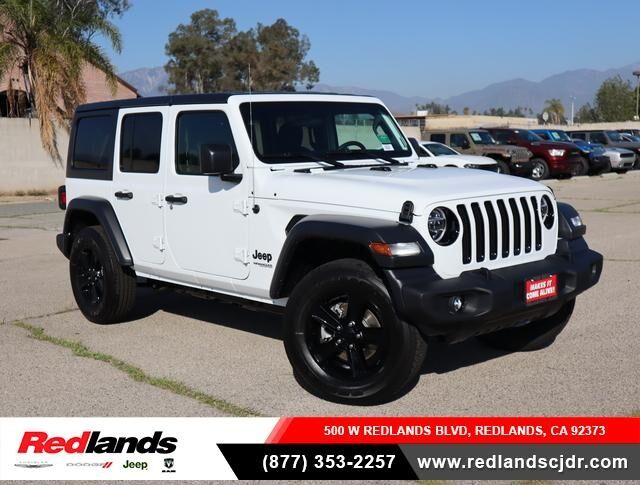 2020 Jeep Wrangler UNLIMITED SPORT ALTITUDE 4X4 Redlands CA