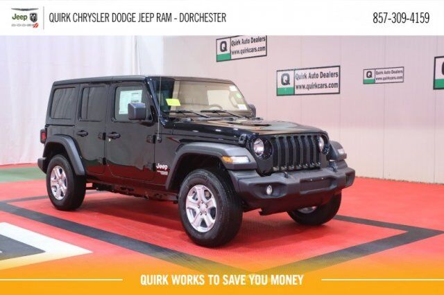 2020 Jeep Wrangler UNLIMITED SPORT S 4X4 Boston MA