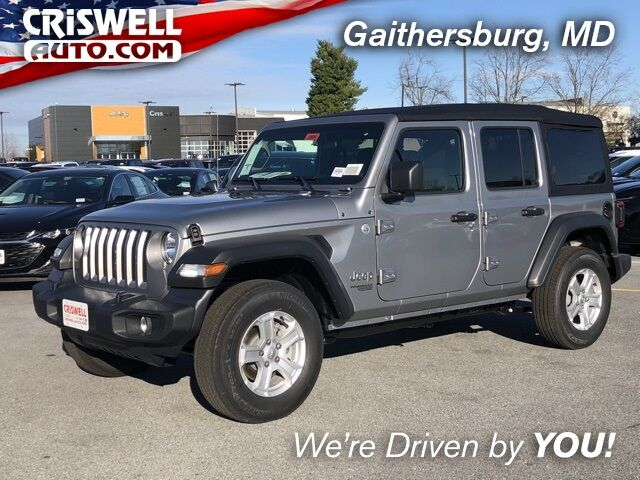 2020 Jeep Wrangler UNLIMITED SPORT S 4X4 Gaithersburg MD
