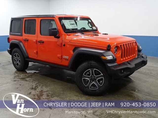 2020 Jeep Wrangler UNLIMITED SPORT S 4X4 Manitowoc WI