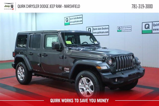 2020 Jeep Wrangler UNLIMITED SPORT S 4X4 Marshfield MA