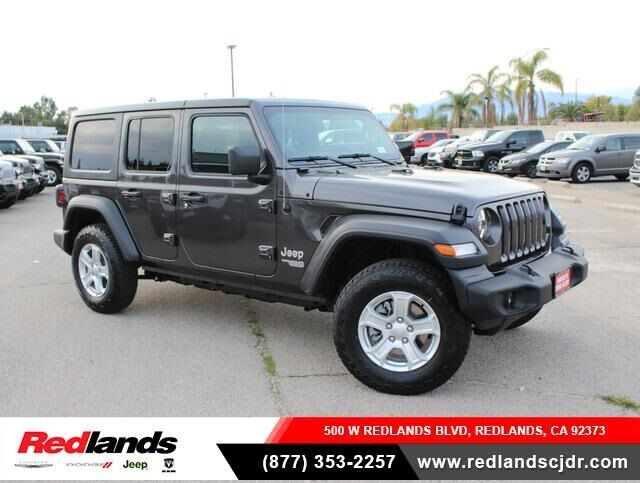 2020 Jeep Wrangler UNLIMITED SPORT S 4X4 Redlands CA