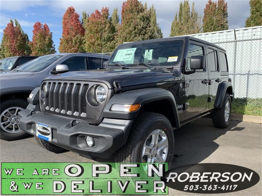 2020 Jeep Wrangler UNLIMITED SPORT S 4X4 Salem OR