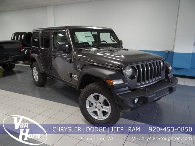 2020 Jeep Wrangler UNLIMITED SPORT S 4X4 Stoughton WI