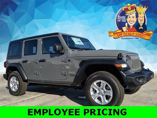 2020 Jeep Wrangler UNLIMITED SPORT S 4X4 Lake Wales FL