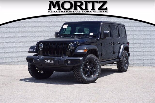 2020 Jeep Wrangler UNLIMITED WILLYS 4X4 Fort Worth TX