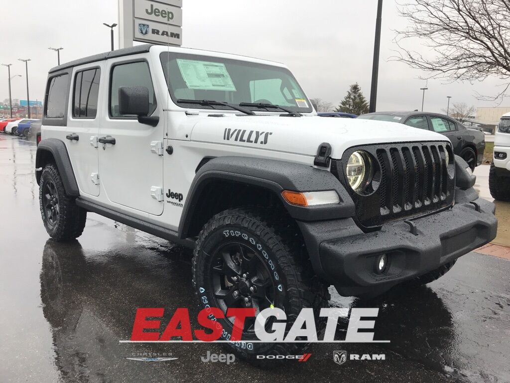 2020 Jeep Wrangler UNLIMITED WILLYS 4X4 Indianapolis IN