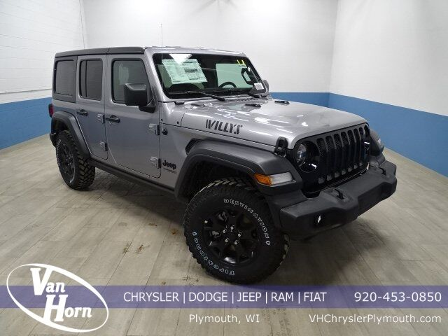 2020 Jeep Wrangler UNLIMITED WILLYS 4X4 Plymouth WI