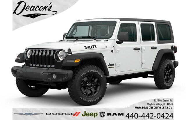 2020 Jeep Wrangler UNLIMITED WILLYS 4X4 Mayfield Village OH