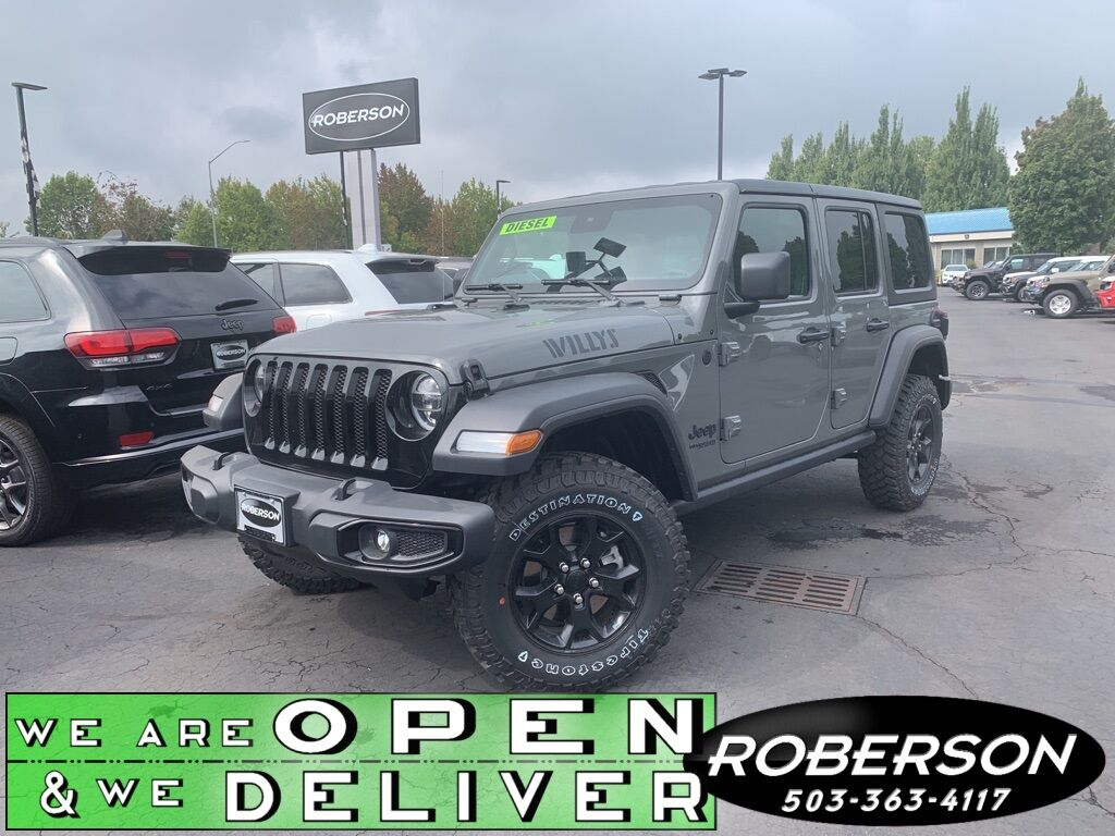 2020 Jeep Wrangler UNLIMITED WILLYS 4X4 Salem OR
