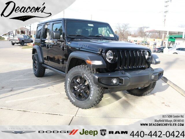 2020 Jeep Wrangler UNLIMITED WILLYS SPORT 4X4 Mayfield Village OH