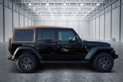Jeep Wrangler Unlimited Black and Tan 4x4 2020