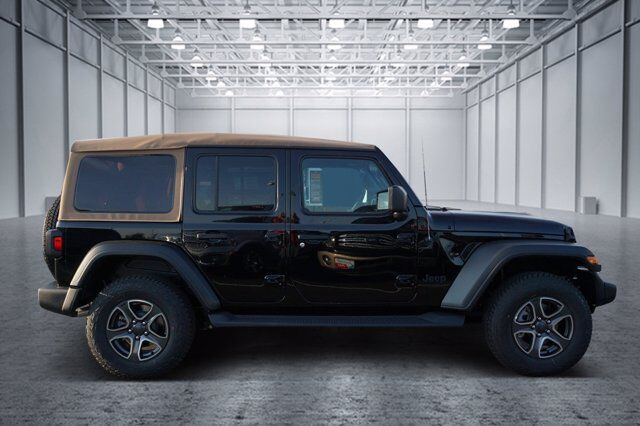 2020 Jeep Wrangler Unlimited Black and Tan 4x4 San Antonio TX