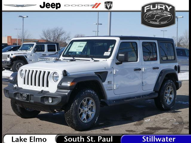 2020 Jeep Wrangler Unlimited Freedom 4x4 St. Paul MN