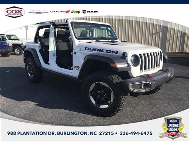 2020 Jeep Wrangler Unlimited Rubicon 4x4 Burlington NC