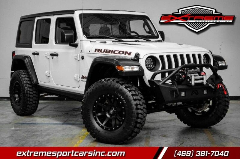2020 Jeep Wrangler Unlimited Rubicon Custom Lifted Addison TX