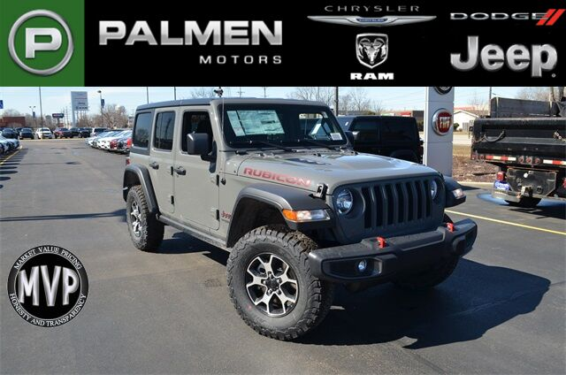 2020 Jeep Wrangler Unlimited Rubicon Kenosha WI