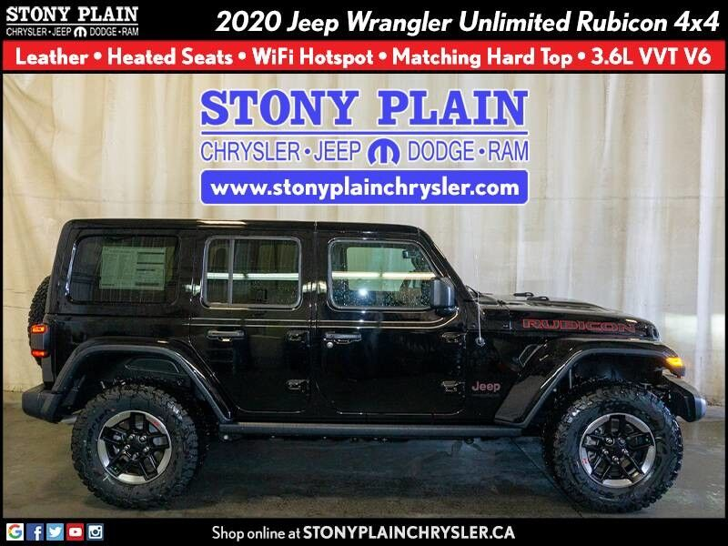 2020 Jeep Wrangler Unlimited Rubicon Stony Plain AB
