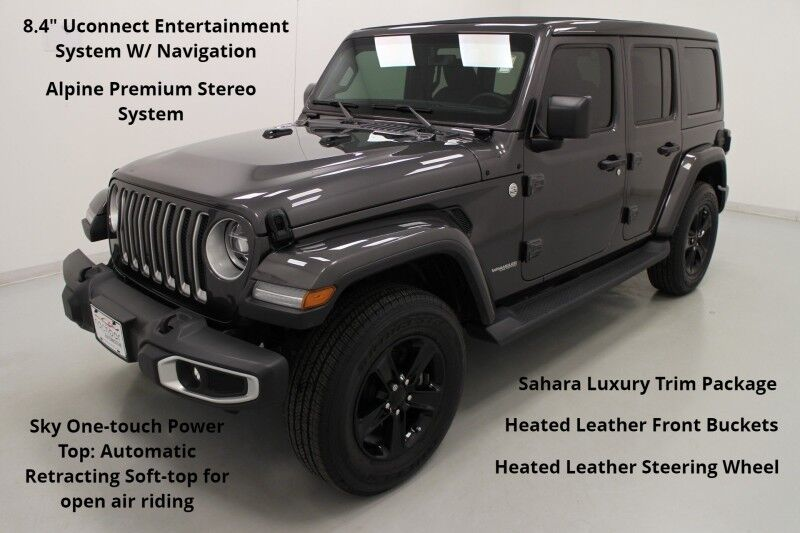 2020 Jeep Wrangler Unlimited Sahara 4WD Bonner Springs KS