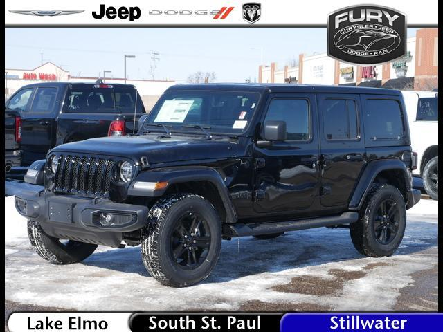 2020 Jeep Wrangler Unlimited Sahara Altitude 4x4 St. Paul MN