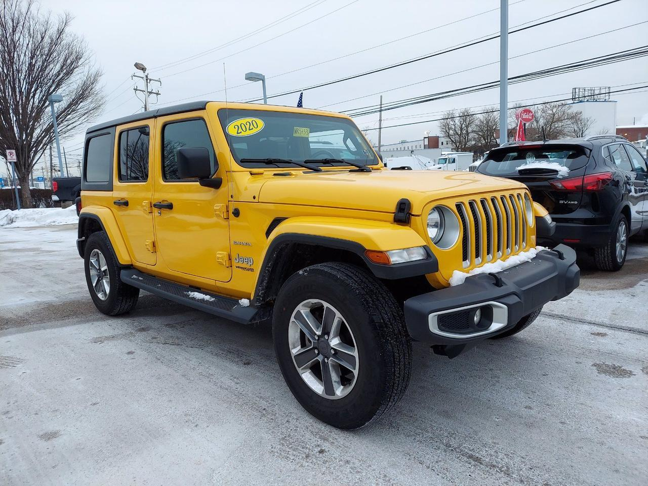 2020 Jeep Wrangler Unlimited Sahara Conshohocken PA