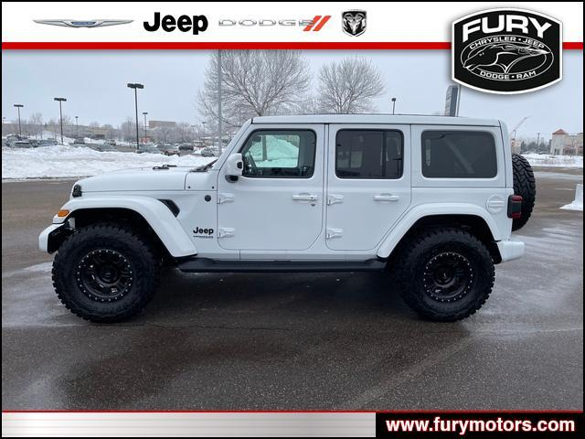 2020 Jeep Wrangler Unlimited Sahara High Altitude Oak Park Heights MN