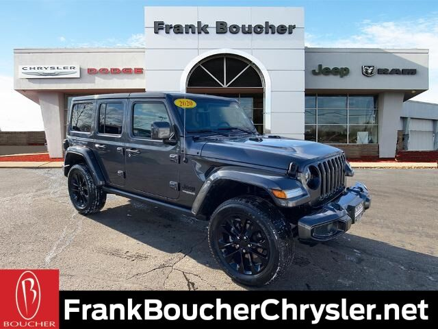 2020 Jeep Wrangler Unlimited Sahara Janesville WI