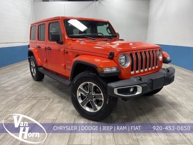 2020 Jeep Wrangler Unlimited Sahara Plymouth WI