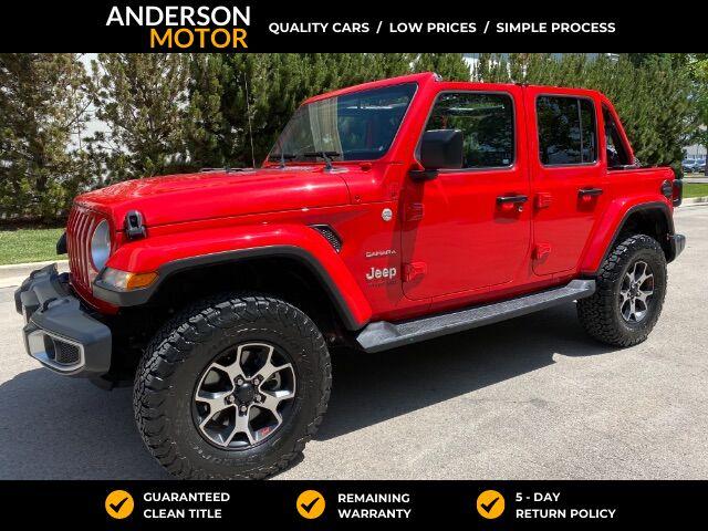 2020 Jeep Wrangler Unlimited Sahara Salt Lake City UT