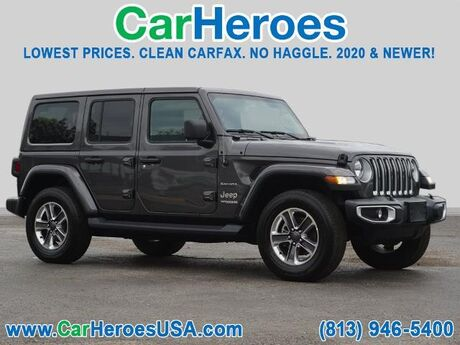 2020 Jeep Wrangler Unlimited Sahara Seffner FL