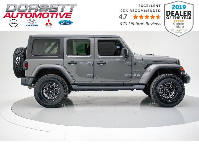 2020 Jeep Wrangler Unlimited Sahara Terre Haute IN