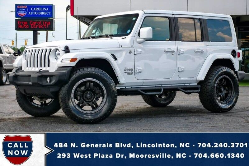 2020 Jeep Wrangler Unlimited Sport 4X4 **PAINT-TO-MATCH*LIFTED** w/ Fuel Wheels Mooresville NC