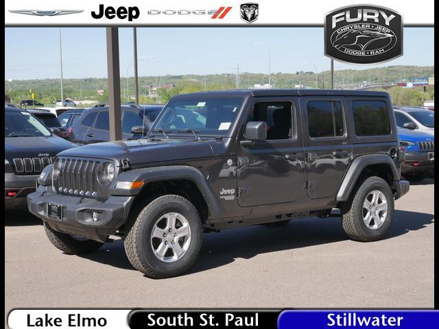 2020 Jeep Wrangler Unlimited Sport 4x4 Stillwater MN