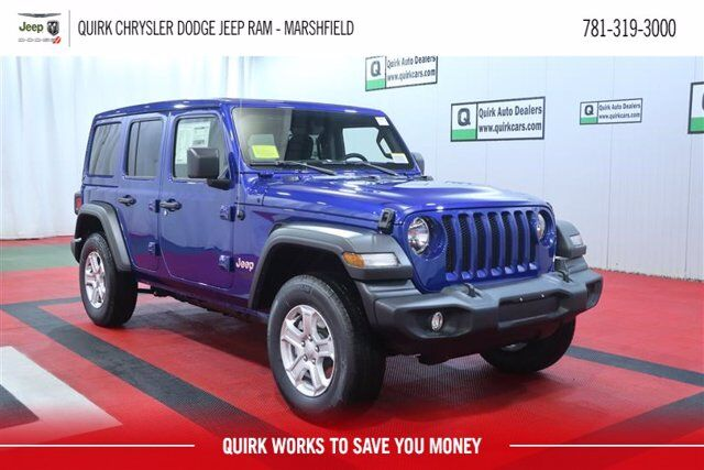 2020 Jeep Wrangler Unlimited Sport S Marshfield MA