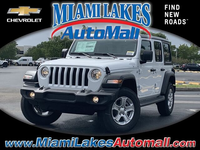 2020 Jeep Wrangler Unlimited Sport S Miami Lakes FL