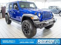 Jeep Wrangler Unlimited Sport, UPGRADES!!! 3 Inch Lift, 35 Inch Falken Wildpeak Tires 2020