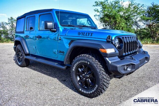 2020 Jeep Wrangler Unlimited Willys Arecibo PR