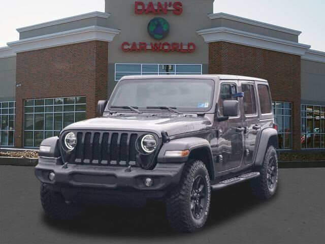 2020 Jeep Wrangler Unlimited Willys Bridgeport WV