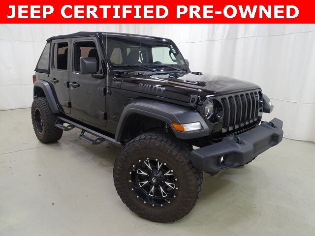 2020 Jeep Wrangler Unlimited Willys Raleigh NC