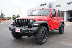 2020_Jeep_Wrangler Unlimited_Willys_ Weslaco TX