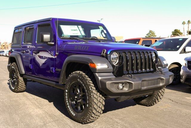 2020 Jeep Wrangler Unlimited Willys Wheeler