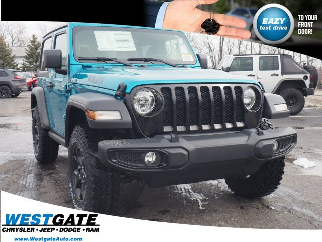 2020 Jeep Wrangler WILLYS SPORT 4X4 Plainfield IN