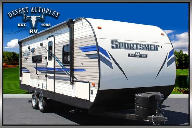 2020 KZ Sportsmen LE 231BHKLE Single Slide Travel Trailer RV Treated w/Cilajet Anti-Microbial Mesa AZ