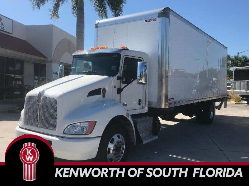 2020 Kenworth T370 BOX TRUCK Fort Lauderdale FL